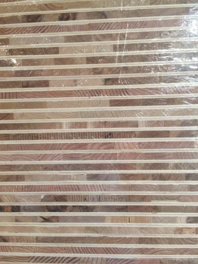 芯板是东北杨木集成材